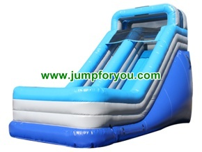 S116a Inflatable Wet Dry Slide