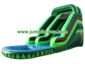 WS133a 27FT Tobogan Inflable Acuatico
