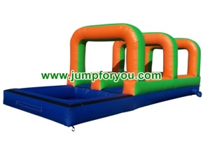WS1409 inflatable double slip n slide for rent 30Lx8Wx13H
