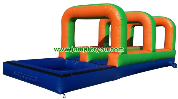 30FT Inflatable Double Slip and Slide For Sale