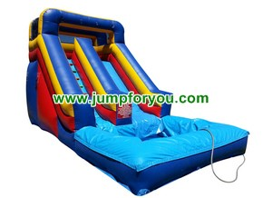 WS483 Inflatable Water Slide