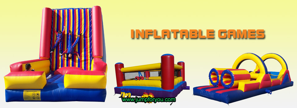 Inflatable Velcro Walls Boxing Rings Interactive Games For Sale